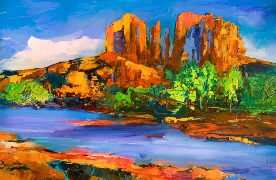 Cathedral Rock Afternoon - Sedona