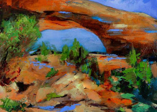 Toward the Arch