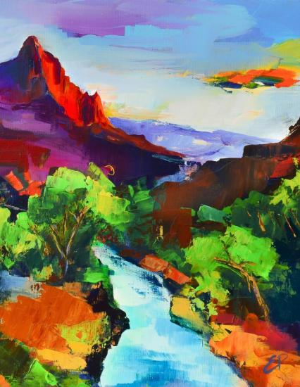 Zion - The Watchman and the Virgin River