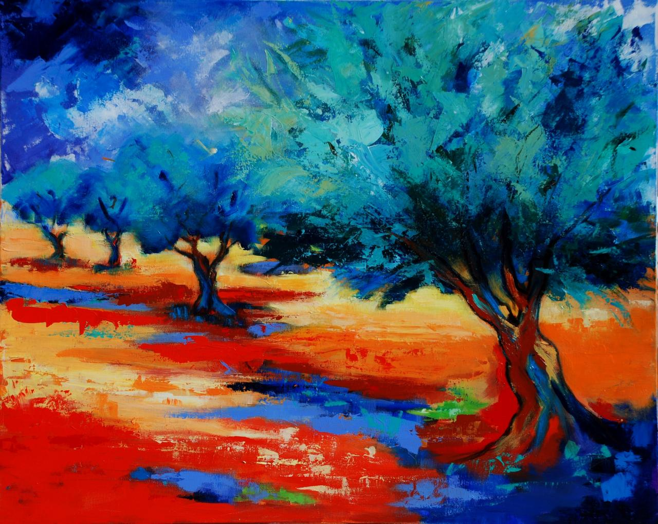 The Olive Trees Dance