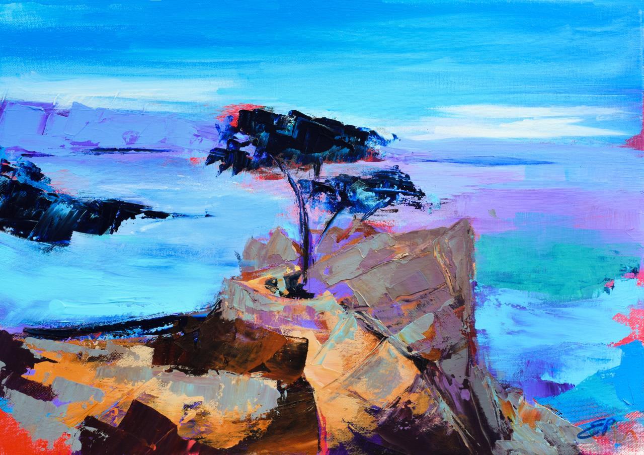Lone Cypress - California