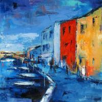 Burano Canal - Venice