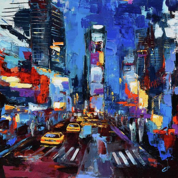 Saturday Night Times Square