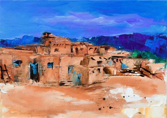 Taos Pueblo Village