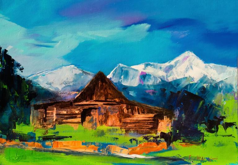 Teton Barn - Wyoming