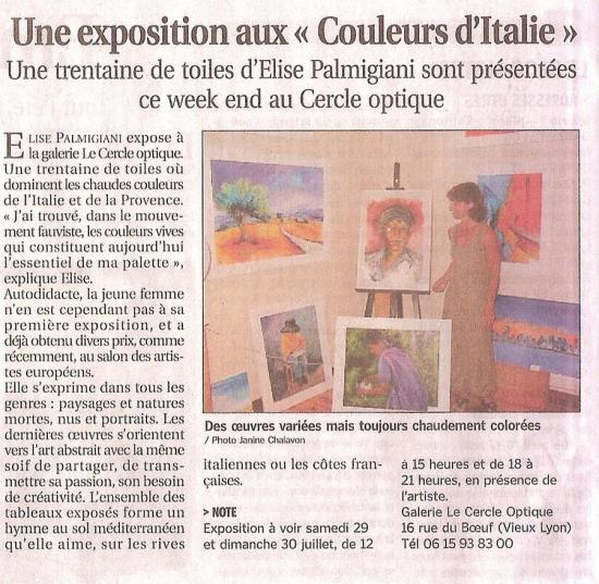 NEWSPAPER ARTICLE OF ART EXHIBIT.JPG